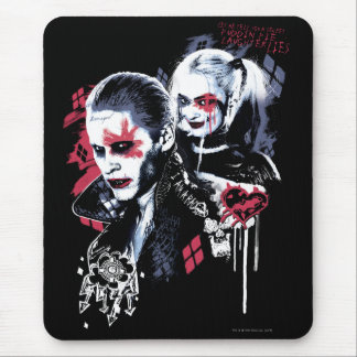 Suicide Squad | Joker & Harley Painted Graffiti Mouse Pad