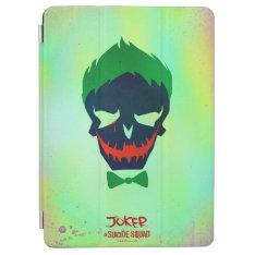 Suicide Squad | Joker Head Icon Ipad Air Cover at Zazzle