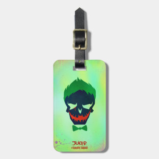 Suicide Squad | Joker Head Icon Luggage Tag