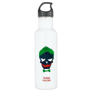 Suicide Squad | Joker Head Icon Stainless Steel Water Bottle