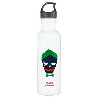 Suicide Squad | Joker Head Icon Stainless Steel Water Bottle