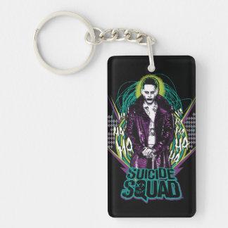 Suicide Squad | Joker Retro Rock Graphic Keychain