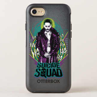 Suicide Squad | Joker Retro Rock Graphic OtterBox Symmetry iPhone 7 Case
