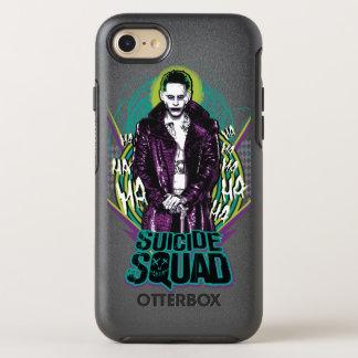 Suicide Squad | Joker Retro Rock Graphic OtterBox Symmetry iPhone 7 Case