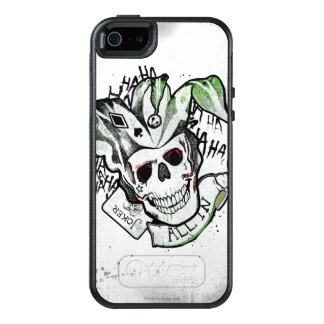 "Suicide Squad | Joker Skull ""All In"" Tattoo Art OtterBox iPhone 5/5s/SE Case"