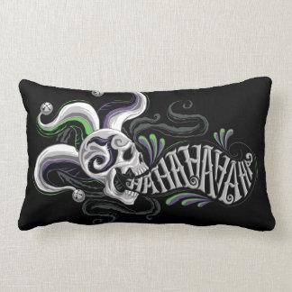 Suicide Squad   Joker Skull - Haha Lumbar Pillow