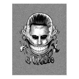 Suicide Squad   Joker Smile Postcard