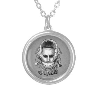 Suicide Squad | Joker Smile Silver Plated Necklace