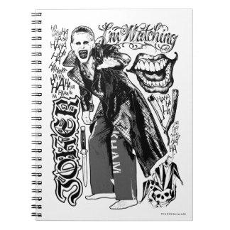 Suicide Squad   Joker Typography Photo Notebook