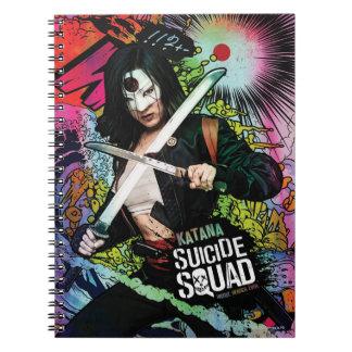 Suicide Squad | Katana Character Graffiti Notebook