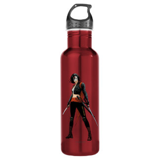 Suicide Squad | Katana Comic Book Art Stainless Steel Water Bottle