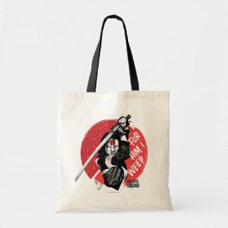 "Suicide Squad | Katana ""For Him I Weep"" Tote Bag"