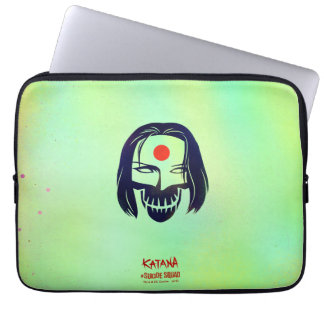 Suicide Squad | Katana Head Icon Computer Sleeves