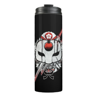 Suicide Squad | Katana Mask & Swords Tattoo Art Thermal Tumbler