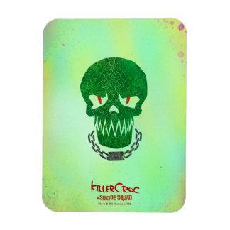 Suicide Squad | Killer Croc Head Icon Magnet