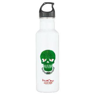 Suicide Squad | Killer Croc Head Icon Water Bottle