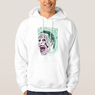 Suicide Squad | Laughing Joker Head Sketch Hoodie