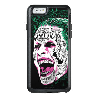 Suicide Squad | Laughing Joker Head Sketch OtterBox iPhone 6/6s Case