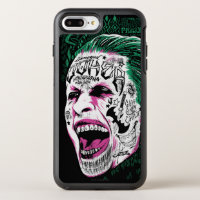Suicide Squad | Laughing Joker Head Sketch OtterBox Symmetry iPhone 8 Plus/7 Plus Case
