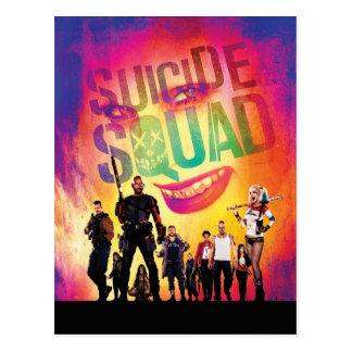 Suicide Squad | Orange Joker & Squad Movie Poster Postcard