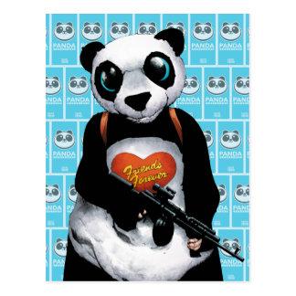 Suicide Squad   Panda Postcard