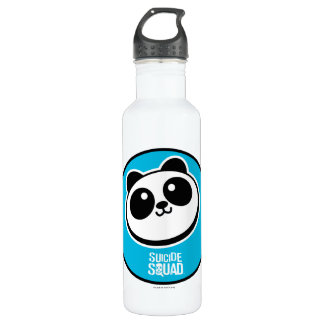 Suicide Squad | Panda Purveyors Logo Stainless Steel Water Bottle