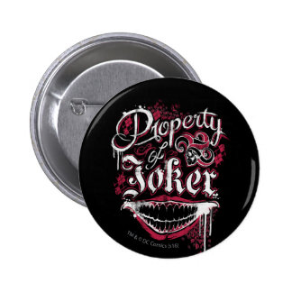 Suicide Squad | Property of Joker Pinback Button