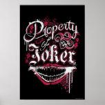 Suicide Squad | Property of Joker Poster