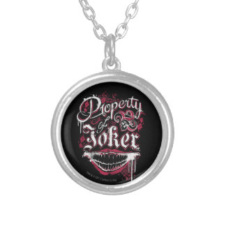 Suicide Squad | Property of Joker Silver Plated Necklace
