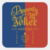 suicide squad, the joker, joker, dc comics, task force x, supervillain, Sticker with custom graphic design