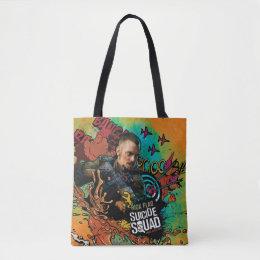 Suicide Squad | Rick Flag Character Graffiti Tote Bag