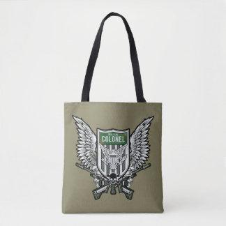 Suicide Squad | Rick Flag Winged Crest Tattoo Art Tote Bag