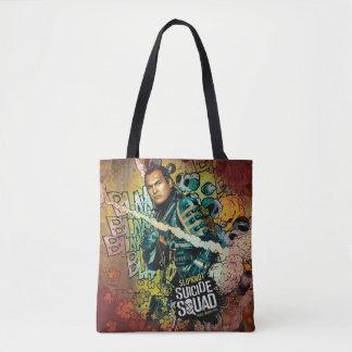 Suicide Squad | Slipknot Character Graffiti Tote Bag