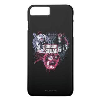 Suicide Squad | Squad Girls Graffiti Badges iPhone 7 Plus Case