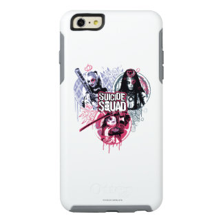 Suicide Squad | Squad Girls Graffiti Badges OtterBox iPhone 6/6s Plus Case