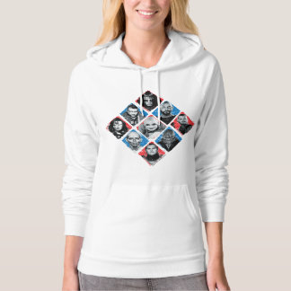 Suicide Squad | Task Force X Checkered Diamond Hoodie