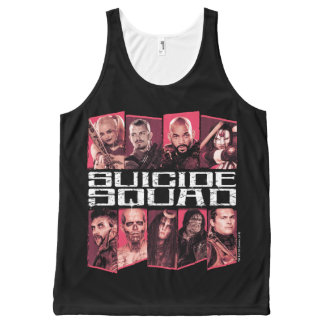 Suicide Squad | Task Force X Group Emblem All-Over-Print Tank Top