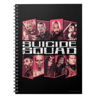 Suicide Squad | Task Force X Group Emblem Notebook