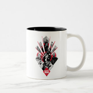 Suicide Squad | Task Force X Japanese Graphic Two-Tone Coffee Mug