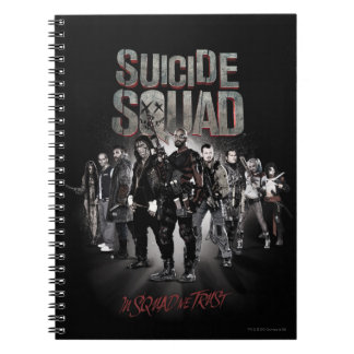 Suicide Squad  Task Force X Lineup Notebook