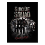 Suicide Squad  Task Force X Lineup Postcard