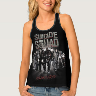 Suicide Squad |Task Force X Lineup Tank Top