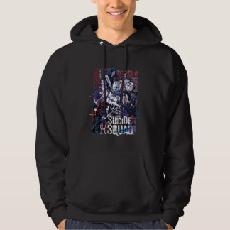Suicide Squad | Task Force X Typography Photo Hoodie