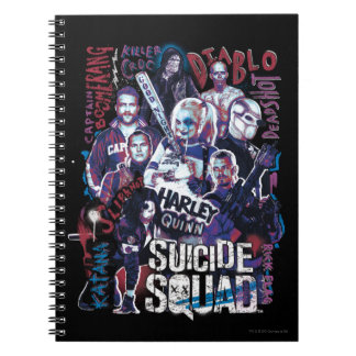 Suicide Squad | Task Force X Typography Photo Notebook