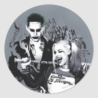 Suicide Squad | The Worst of The Worst Classic Round Sticker