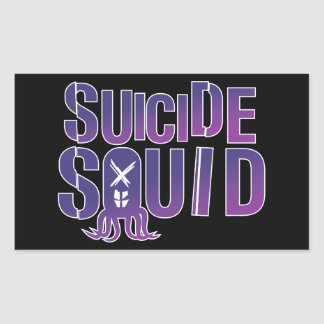 Suicide Squid Rectangular Sticker