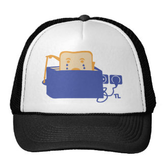 suicide toast icon trucker hat
