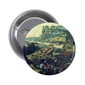 Suicidio de Saul por Bruegel D. Ä. Pieter (el mejo Pins
