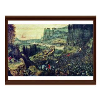 Suicidio de Saul por Bruegel D. Ä. Pieter (el Tarjetas Postales