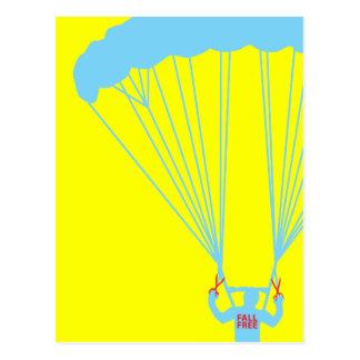 suicidio skydive tarjetas postales